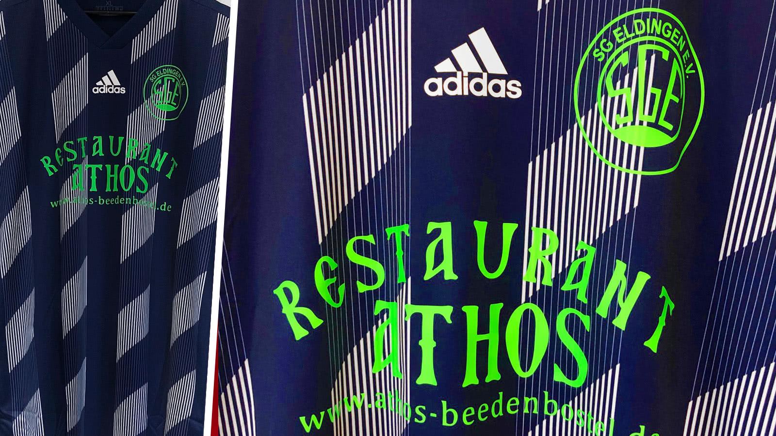 adidas Trikots mit Bedruckung des Vereins
