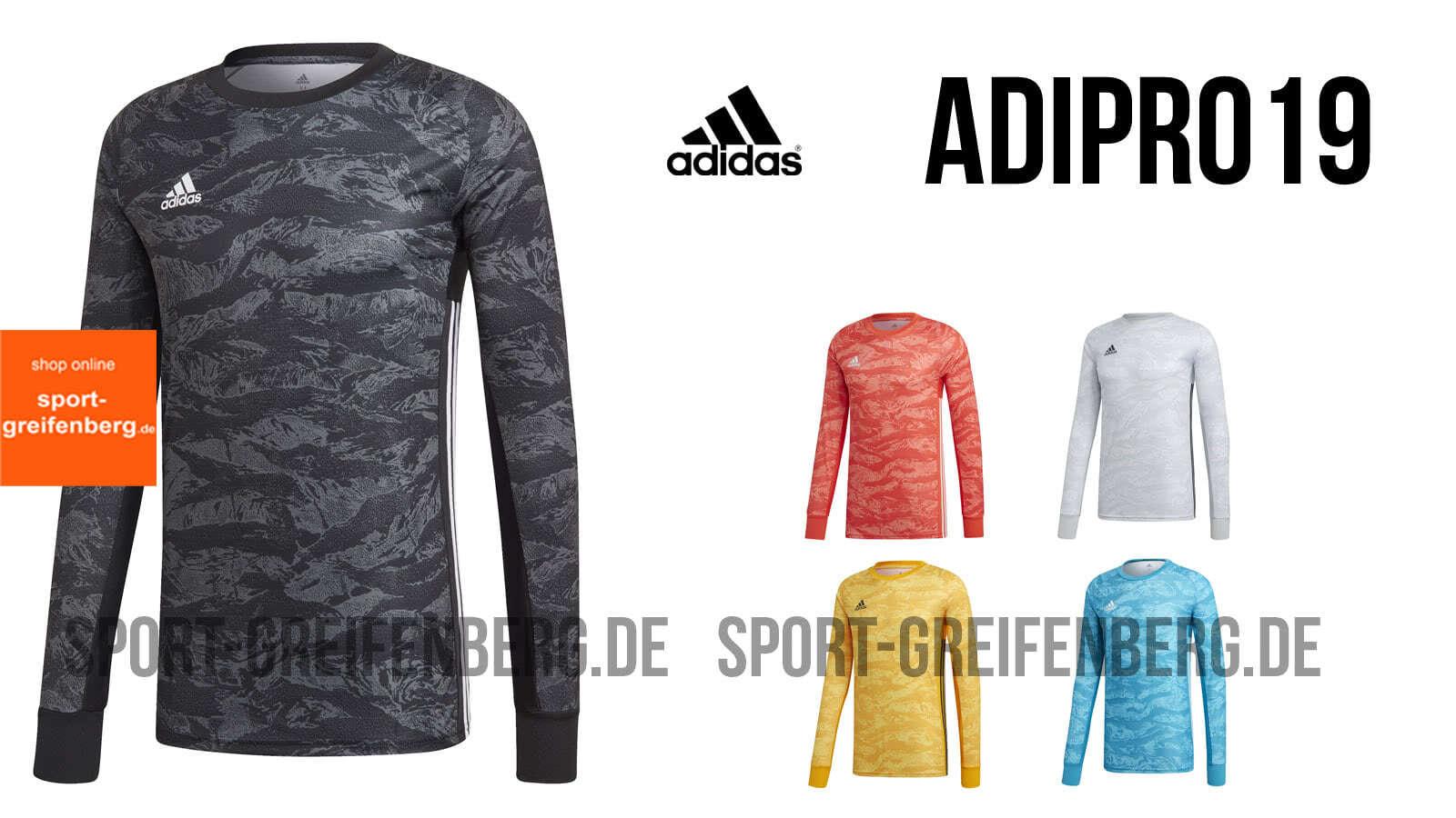 472c98110cf adidas adipro 19 GK ✓ Torwart Trikot für 2019 2020 (Goalkeeper Jersey)