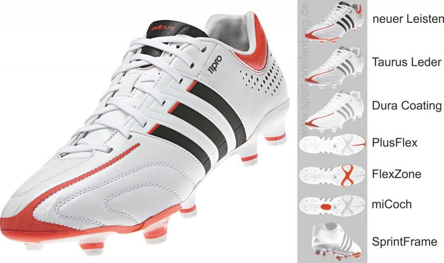Adidas adiPure 11pro die besonderen Fußballschuhe - Sportartikel und ...