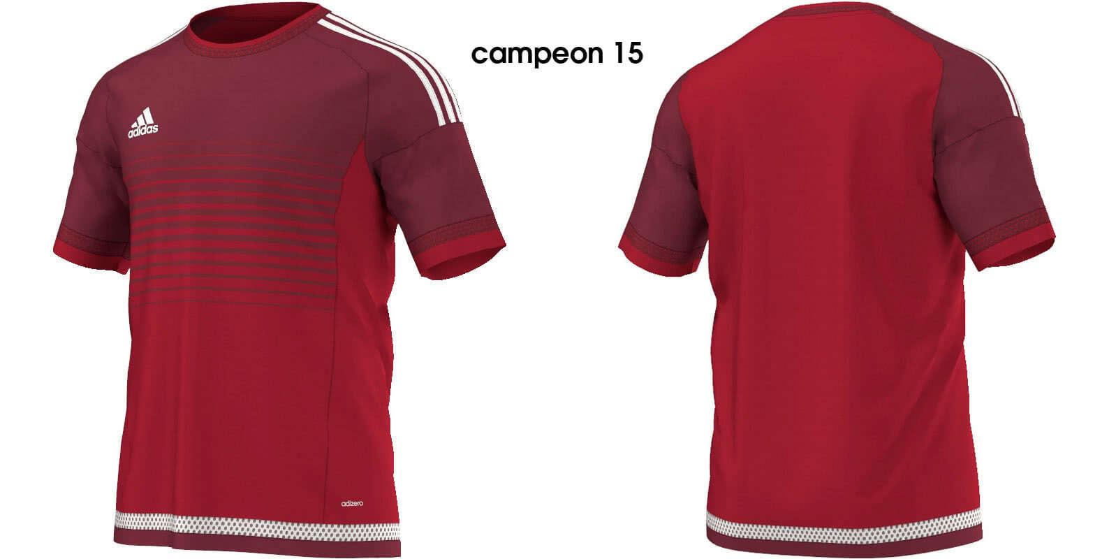 ca18c9bd766744 Das Adidas Campeon 15 Trikot als Fußball Trikot in 5 Farbkombinationen