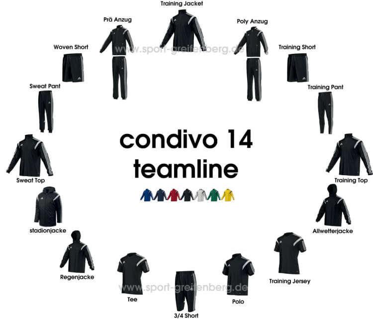 Adidas Condivo 14