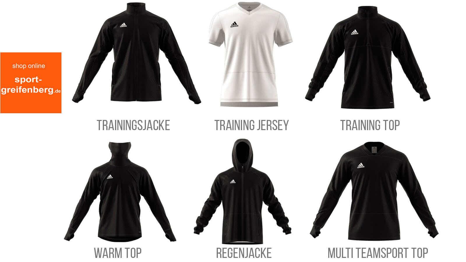 Adidas Condivo 18 Sportbekleidung (2018 und 2019)