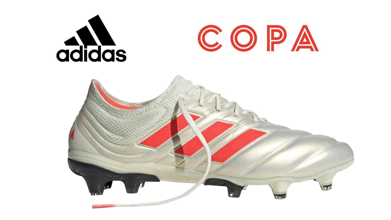 die adidas Copa 19 Fußballschuhe mit adidas Copa 19.1 FG