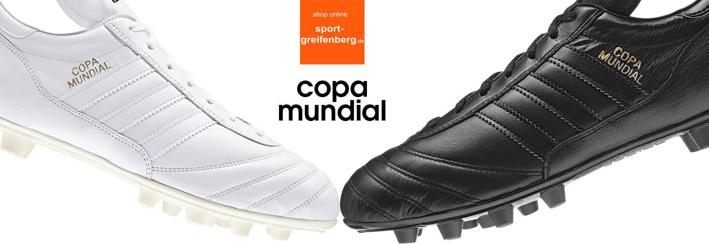 Adidas Copa Mundial komplett weiß und schwarz Sportartikel