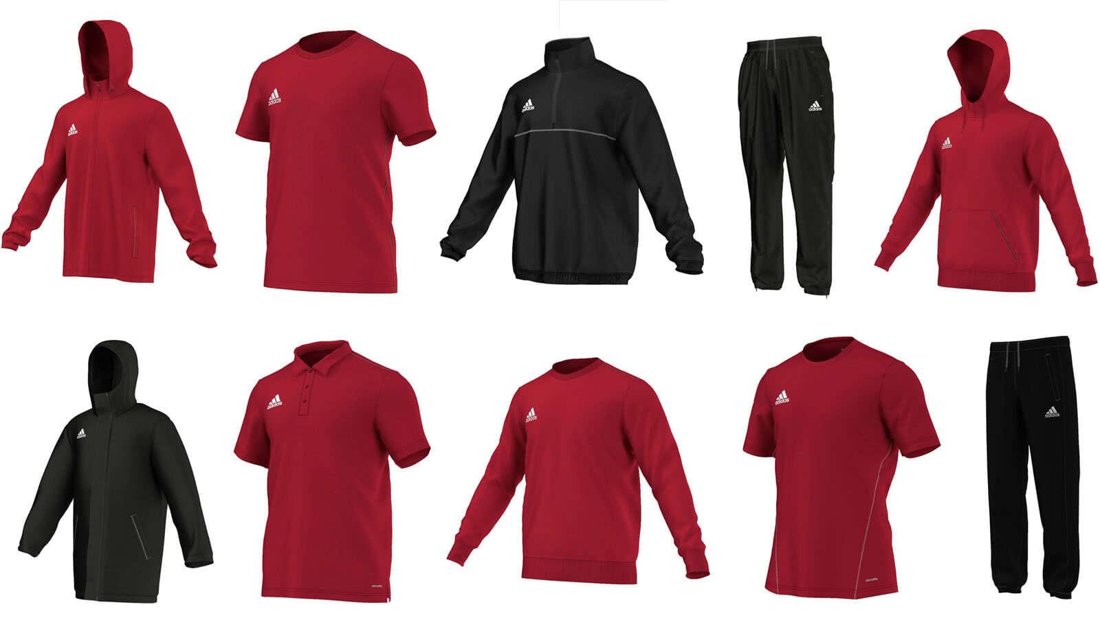 adidas Core 15 Serie | Hoody | T Shirt | Sweatshirt | Sweat