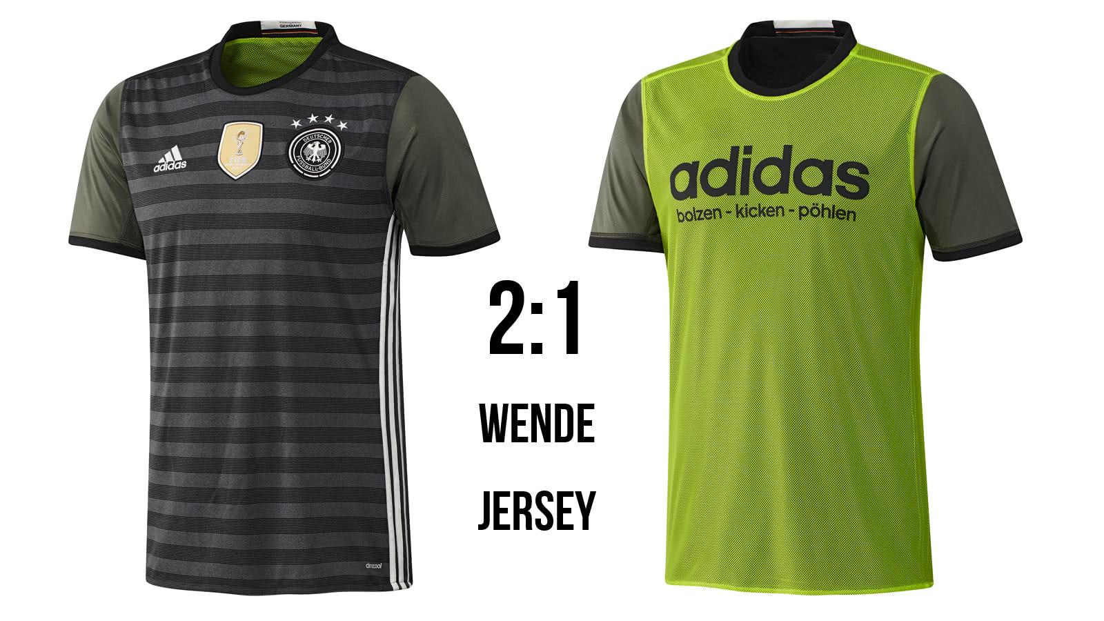 buy popular latest low priced Adidas DFB 2 in 1 Trikot