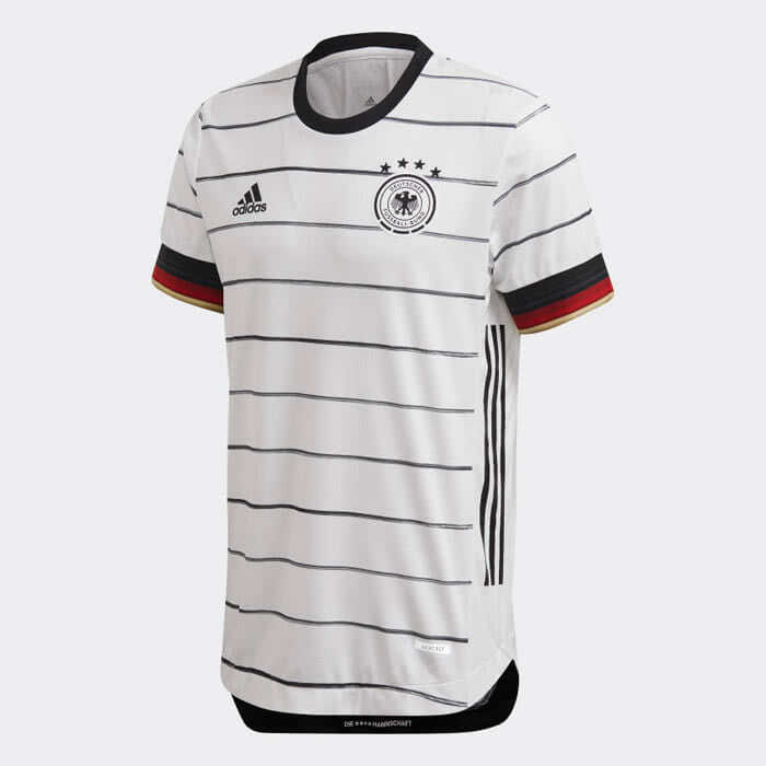 adidas Deutschland 2020 Heimtrikot Authentic Match Shirt Weiß