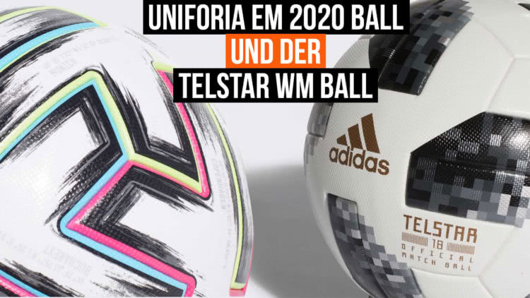 Vergleich adidas EM Ball und WM Ball