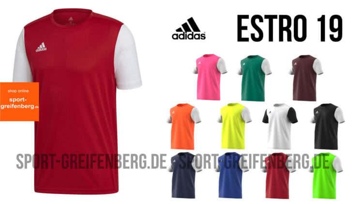 Das adidas Estro 19 Jersey / Trikot für die Saison 2019/2020