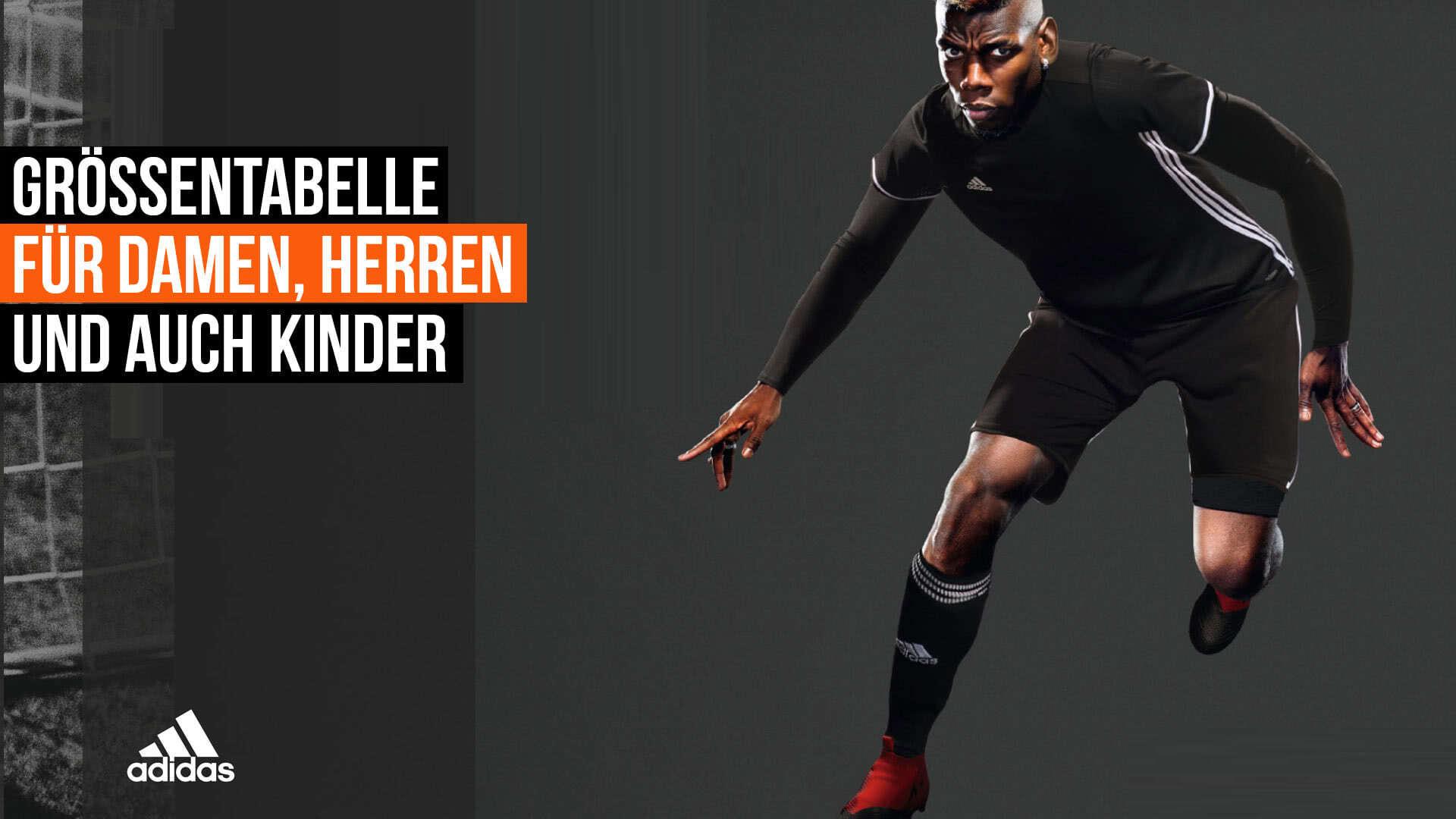 Adidas Größentabelle Damen ✓ Männer ✓ Kinder ✓