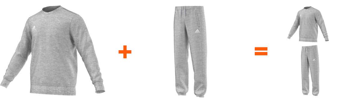 adidas jogginganzug core 15 sportartikel und fussballschuhe news. Black Bedroom Furniture Sets. Home Design Ideas