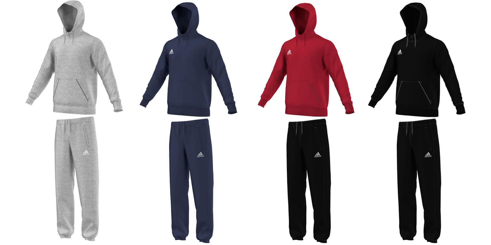 adidas kapuzenanzug jogginganzug core 15 sportartikel und fussballschuhe news. Black Bedroom Furniture Sets. Home Design Ideas