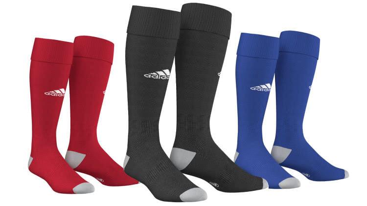 Die Adidas Milano 16 Socke als Strumpfstutzen