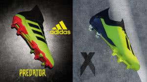 Die Trend Fußballschuhe in Neon Farbe
