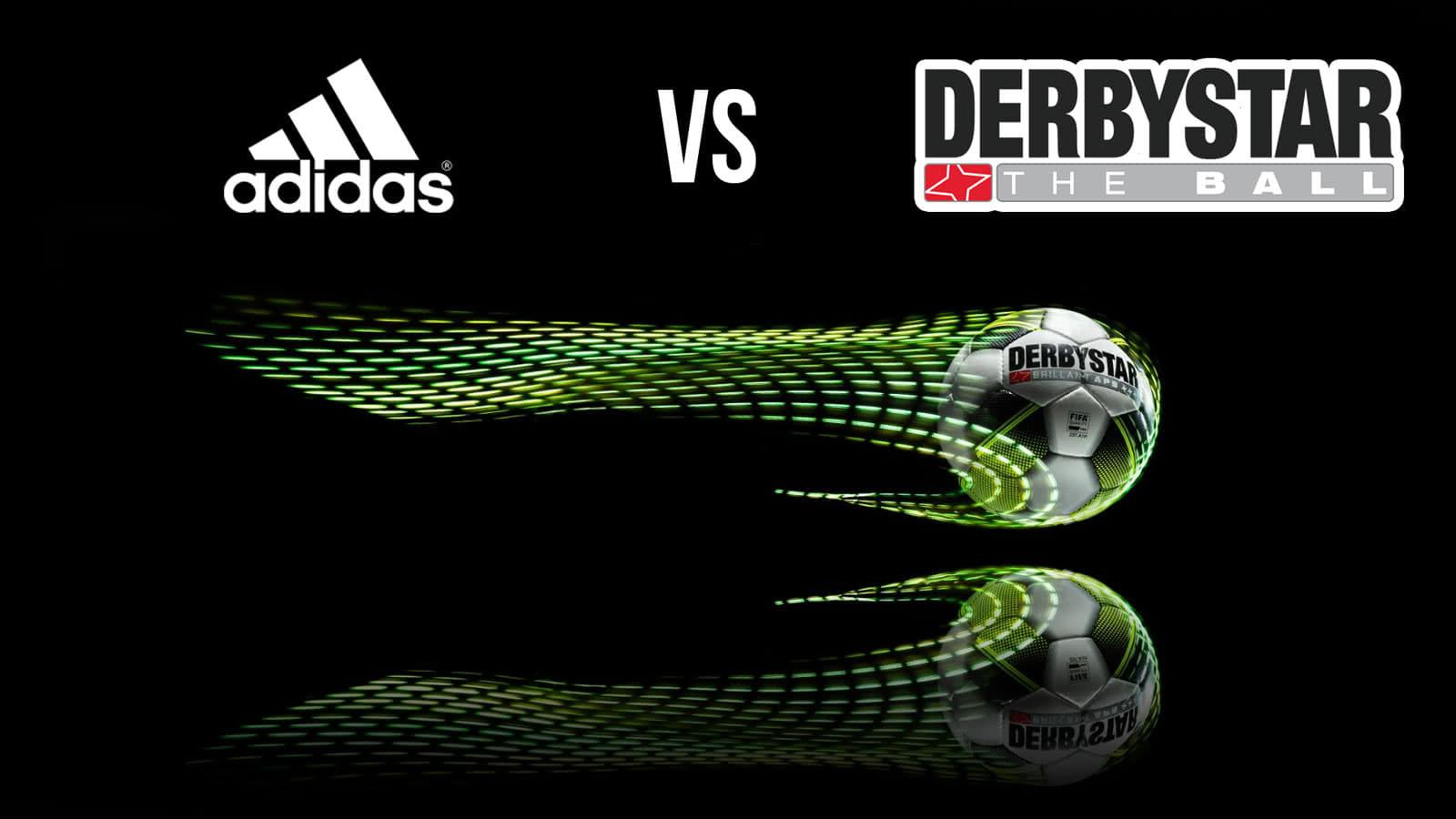 Lieber einen adidas oder einen Derbystar Ball als Spielball verwenden