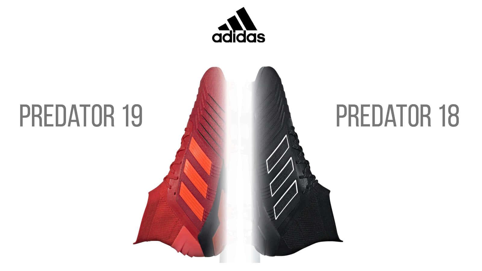 adidas Predator 19 und adidas Predator 18 Fussballschuhe