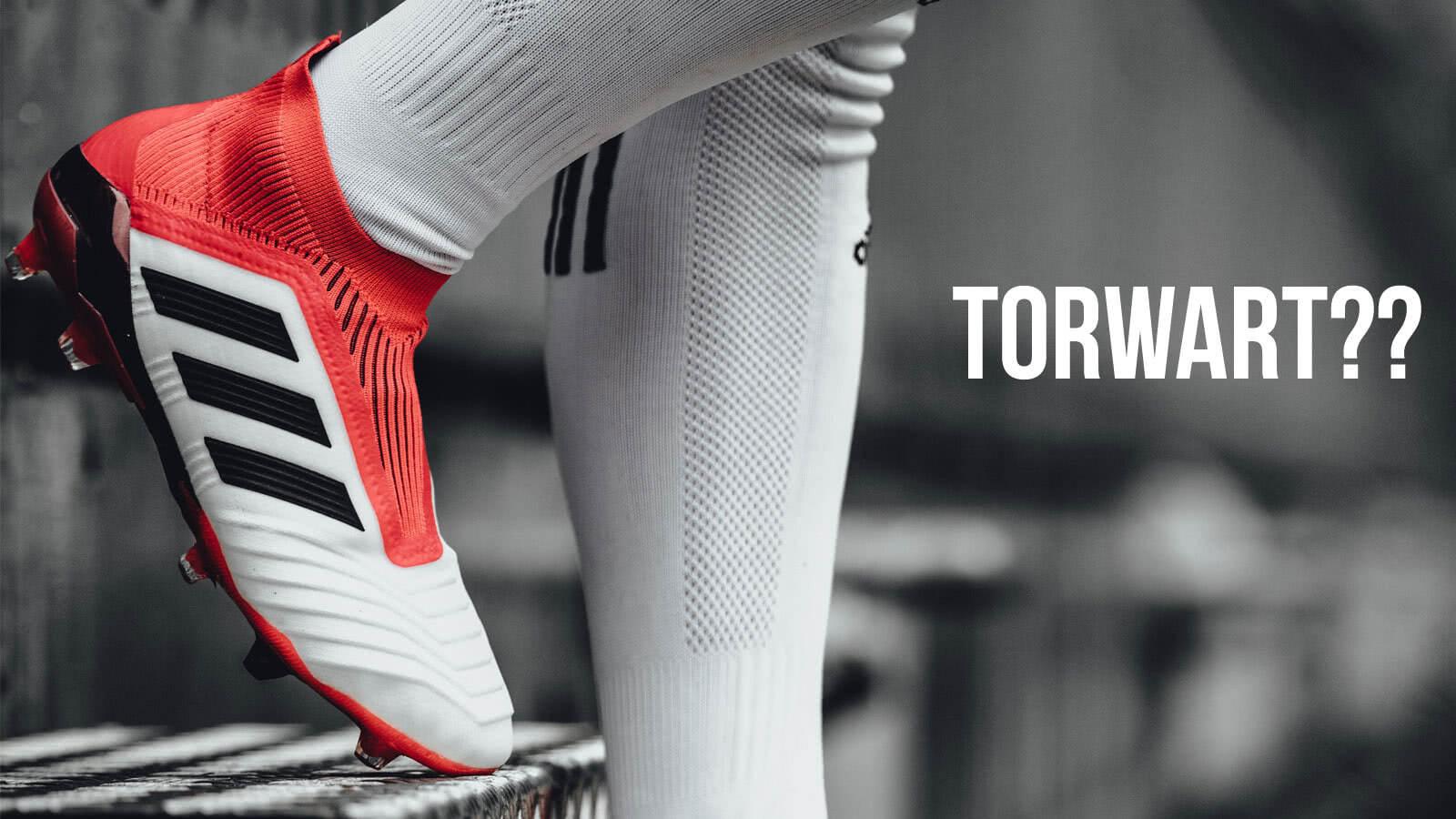 die adidas Predator als Torwart Fußballschuhe. Torhüter Fußballschuhe wie Manuel Neuer