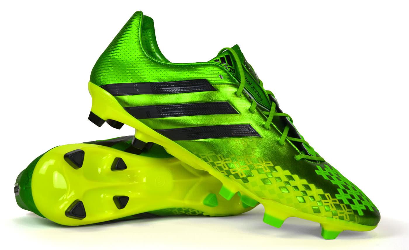Die Adidas Predator Lethal Zones 2 TRX FG Neon Fussballschuhe