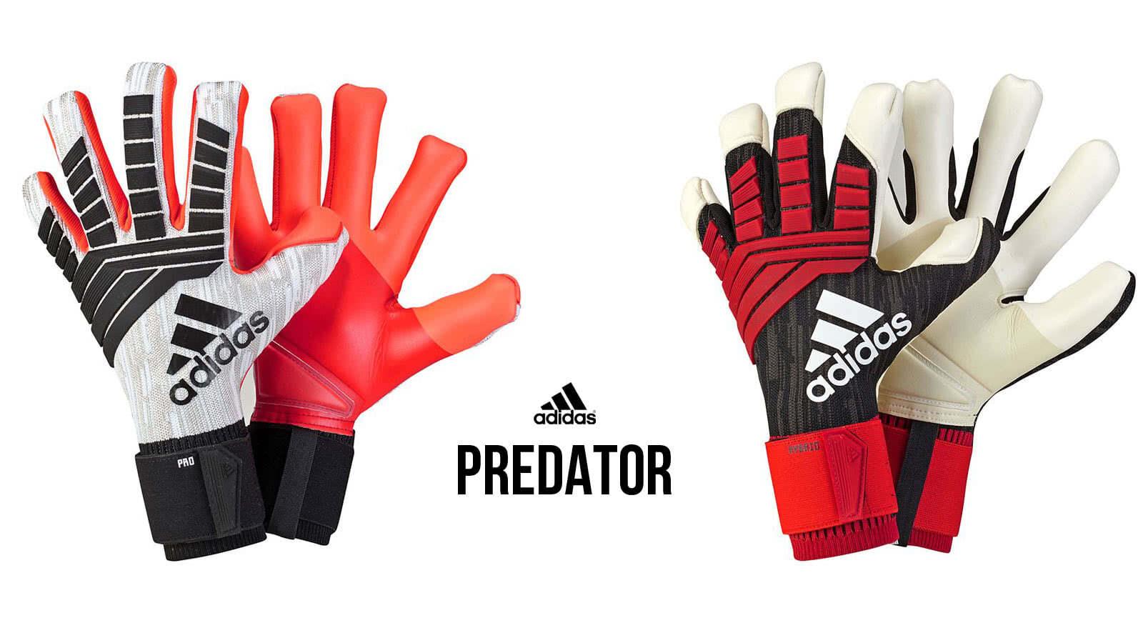 adidas Predator Hybrid und adidas Predator Pro Torwarthandschuhe im Vergleich