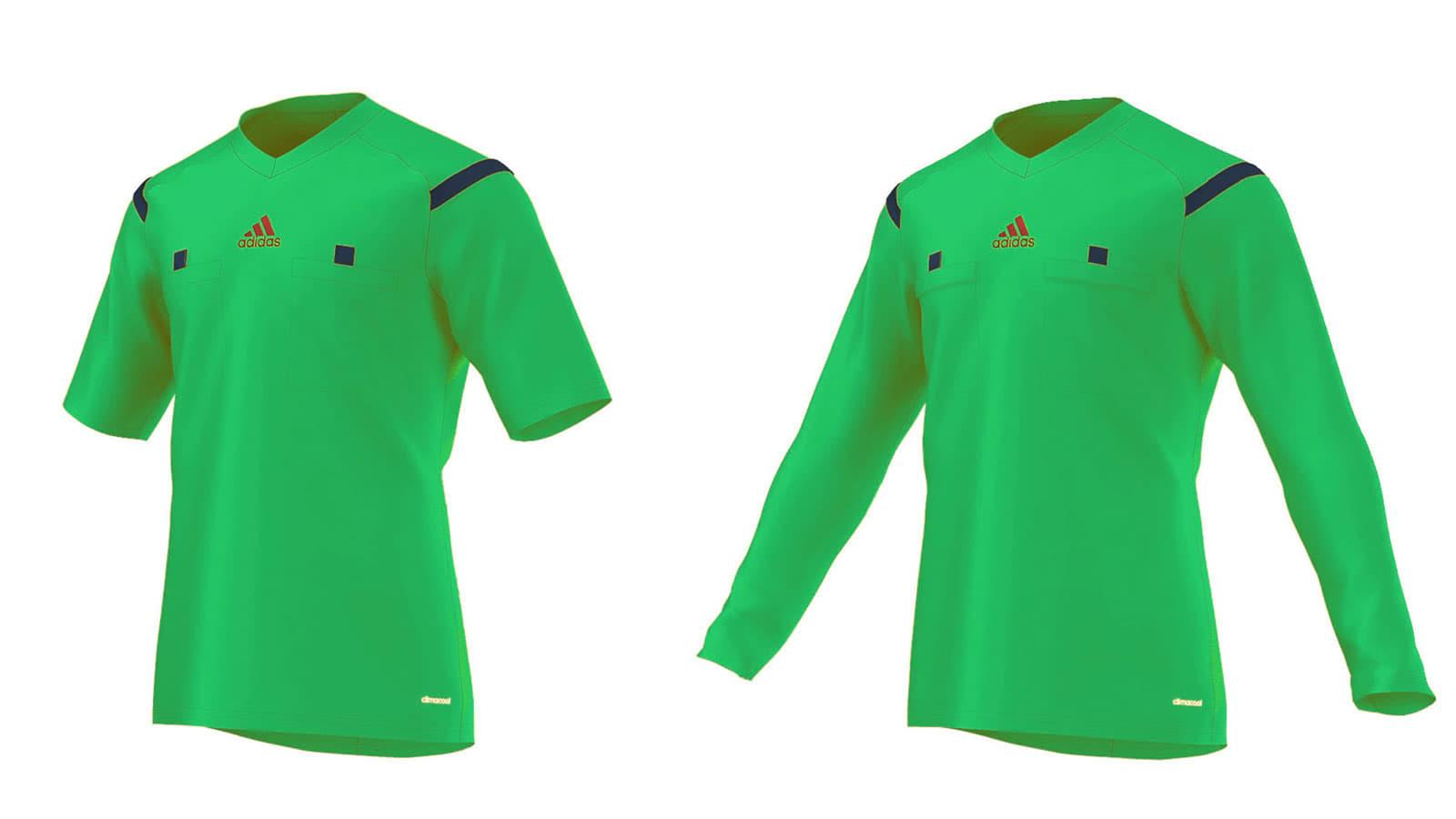 official photos 8d079 0f3cf Adidas Referee 15 Schiedsricher Trikot in grün ...