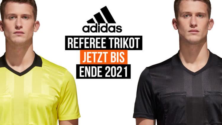 Das adidas Referee Schiedsrichter Trikot für die Zeit bis 2021