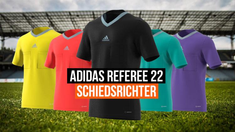 die adidas referee 22 Schiedsrichter Kollektion ab 2022 auch für die WM