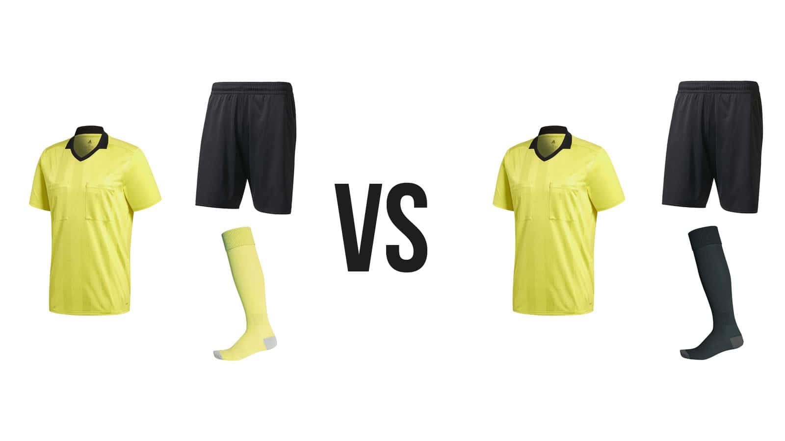 adidas Schiedsrichter Set mit Referee Trikot + Short +
