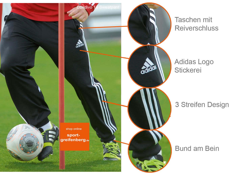 ungleich in der Leistung Los Angeles beste website Adidas Condivo 14 Training Pant und Sweat Pant ...