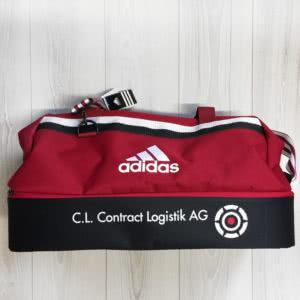 Die Adidas Sporttaschen mit Logo Bedruckung