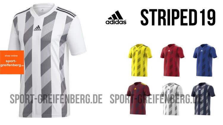 Das adidas Striped 19 Jersey / Trikot für die Spielzeit 2019/2020