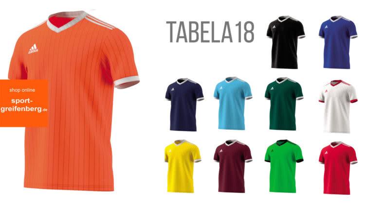 Das Adidas Tabela 16 Trikot und Jersey aus dem Fußball Katalog