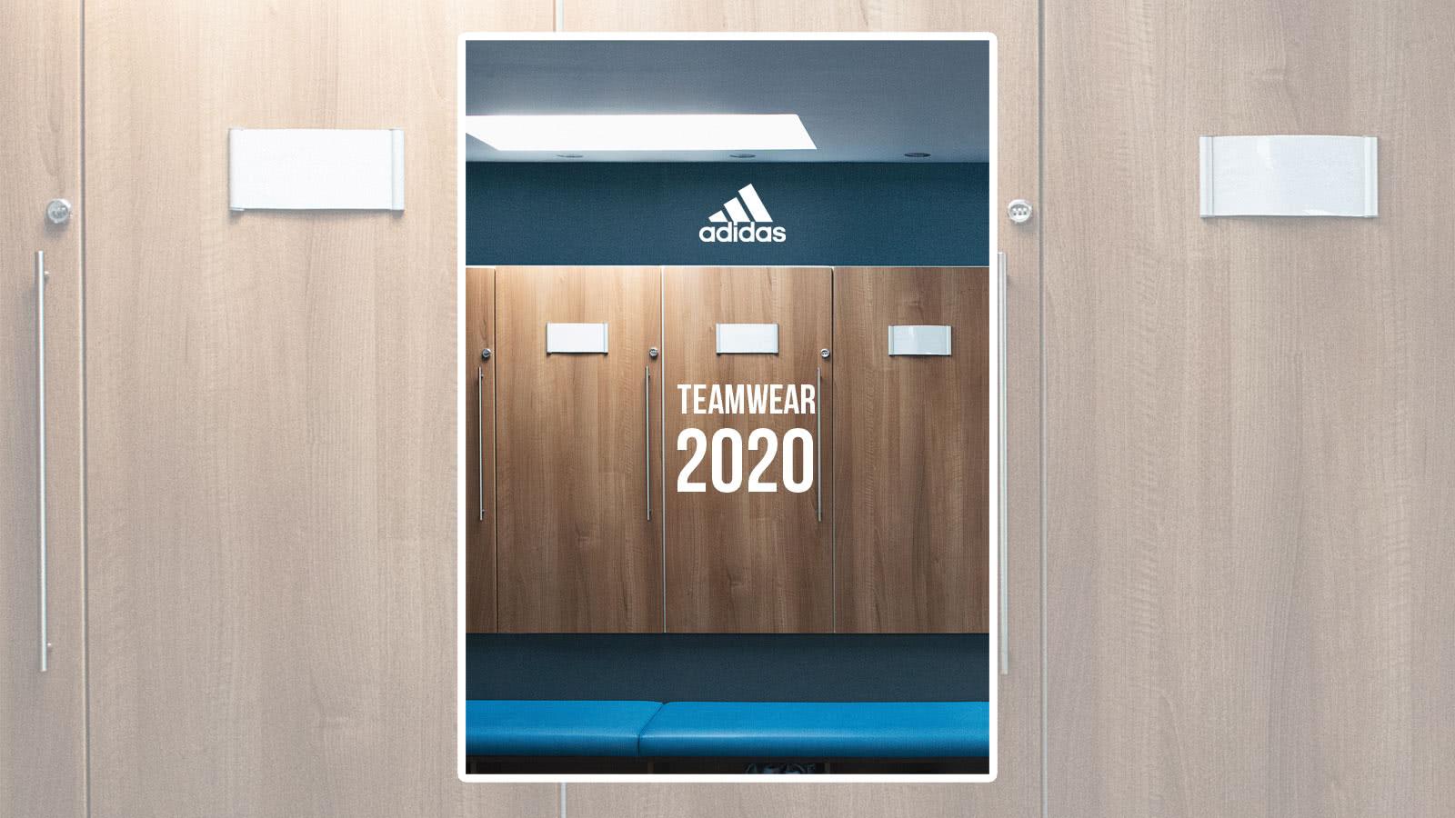 Der adidas Teamsport 2020 Katalog