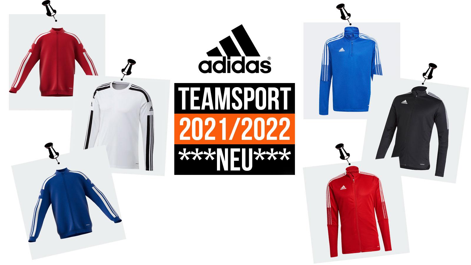 adidas teamsport 2021/2021 mit adidas Tiro 21 und adidas Squadra 21