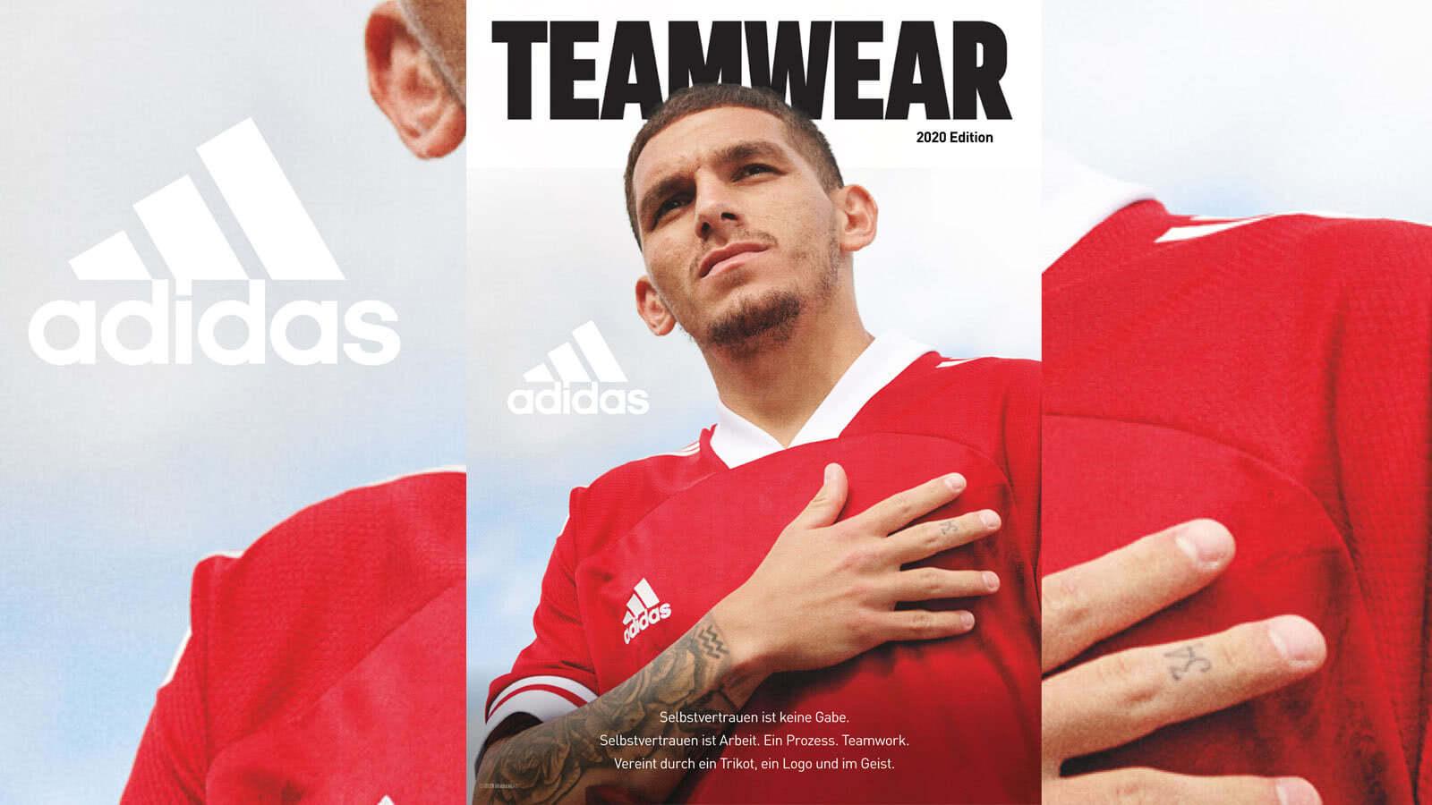 Der adidas Teamwear Katalog 2020/2021 als PDF download