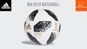 adidas Telstar 18 der WM 2018 Matchball als Spielball