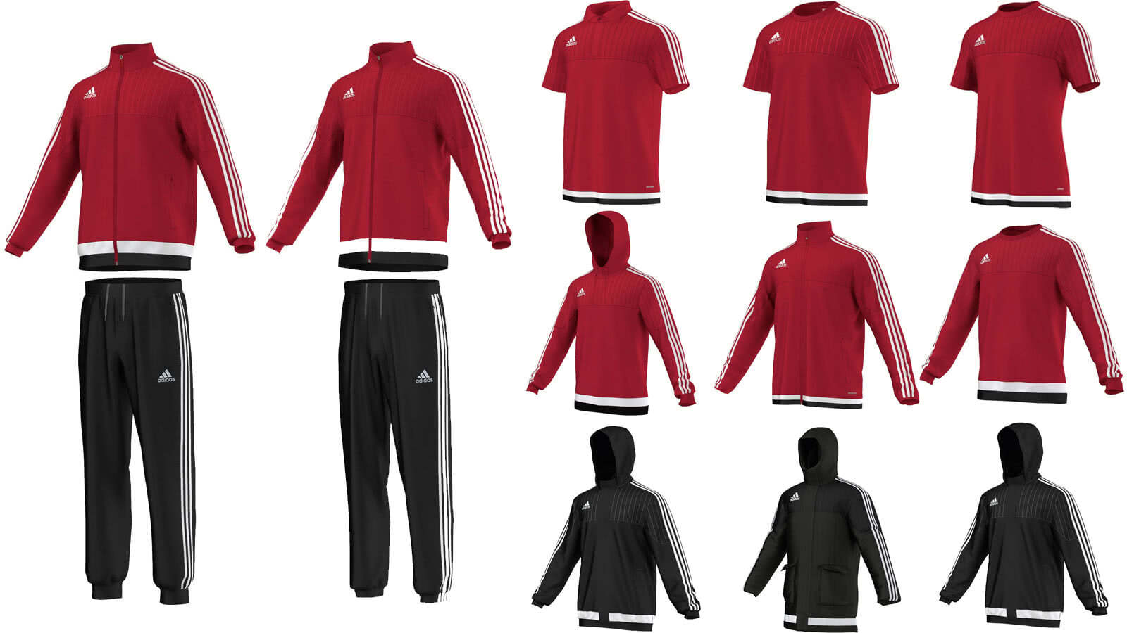 new high quality first look limited guantity Adidas Tiro 15 Teamsport Linie - Sportartikel und ...