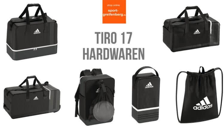 c2c675aecfcfe2 Adidas Tiro 17  Sporttaschen (Teambag) sowie Rucksack (Backpack) und  Schuhbeutel