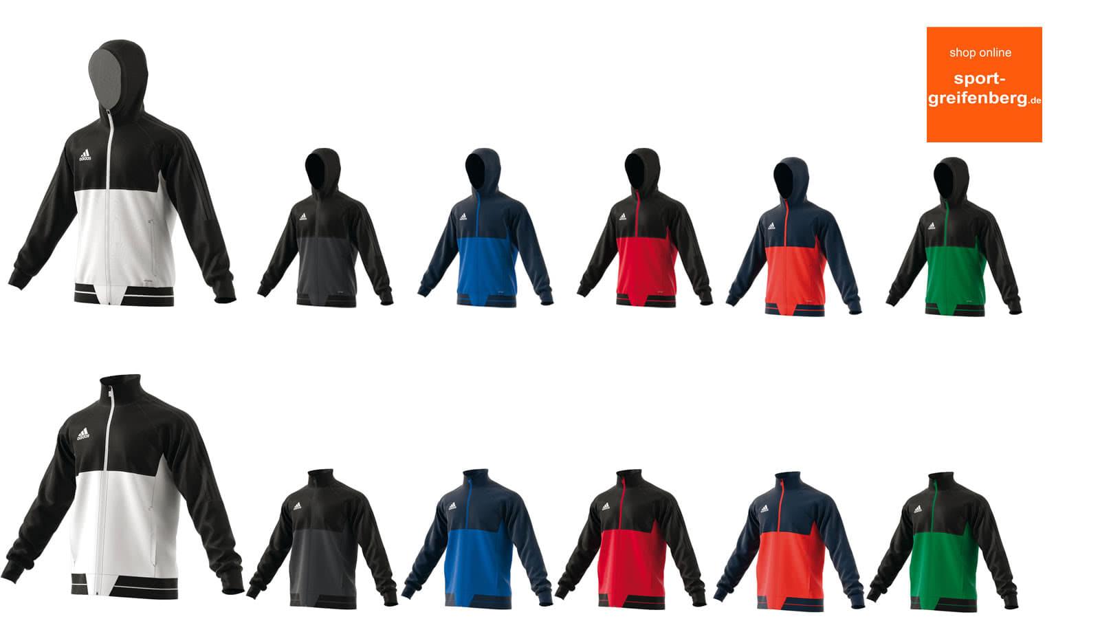 Adidas Tiro 17 Präsentationsanzug bestellen (Jacke + Hose)