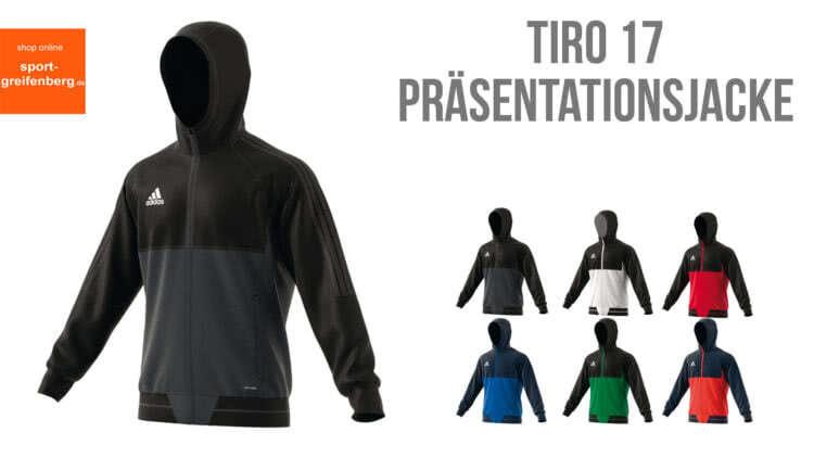 edc4eaa0cf6ce6 Die Adidas Tiro 17 Präsentationsjacke für den Adidas Tiro 17  Präsentationsanzug