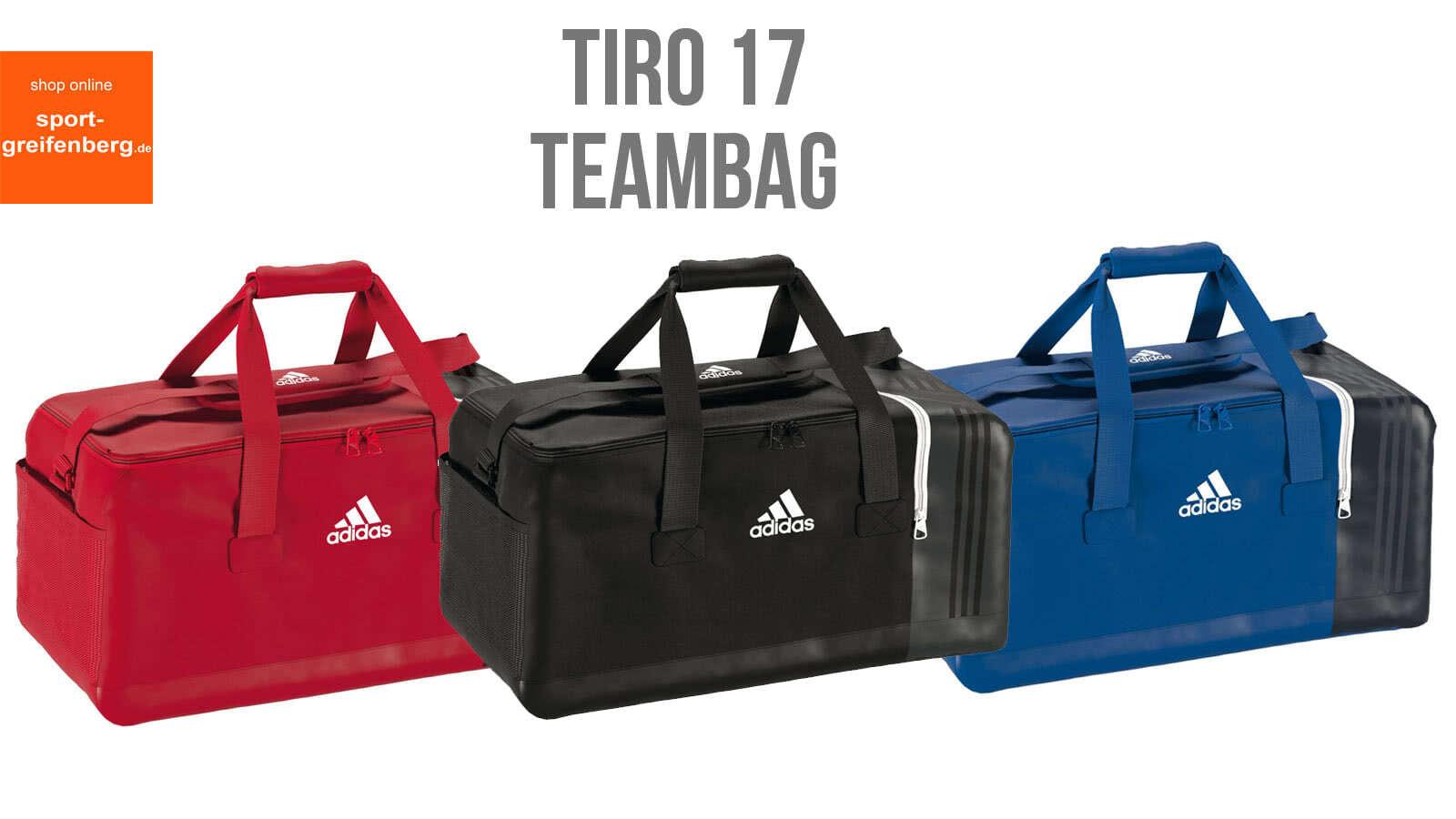 525f7e6135b26 Adidas Tiro 17 Teambag Sporttasche für 2017 2018