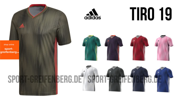 Das adidas Tiro 19 Jersey / Trikot für Fußballvereine