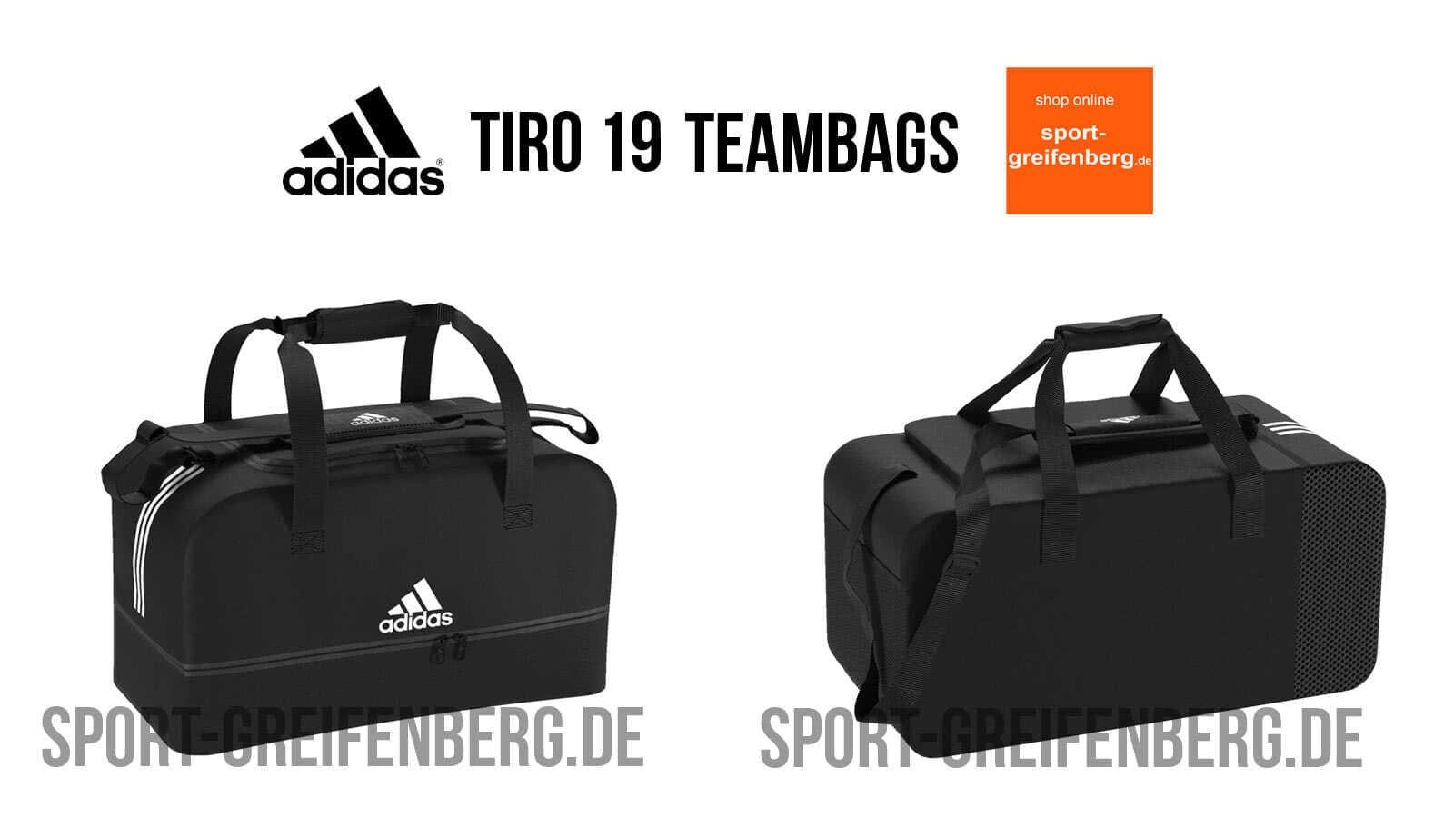adidas Tiro 19 Teambag Sporttaschen (20192020) ✓ Teambag