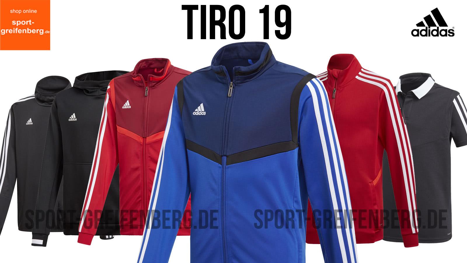 die adidas Tiro 19 Trainingsbekleidung