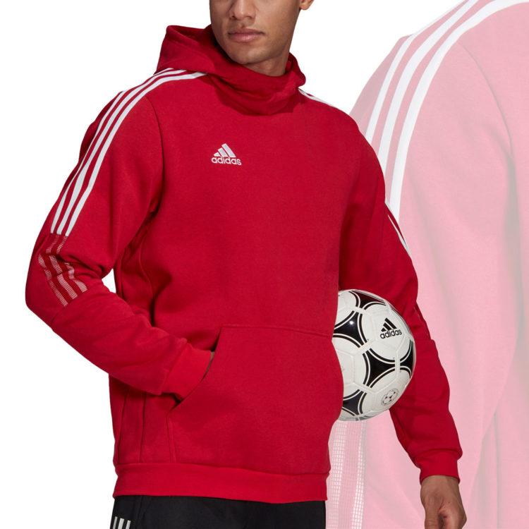 Das adidas Tiro 21 Sweat Hoodie als Sweatshirt mit Kapuze