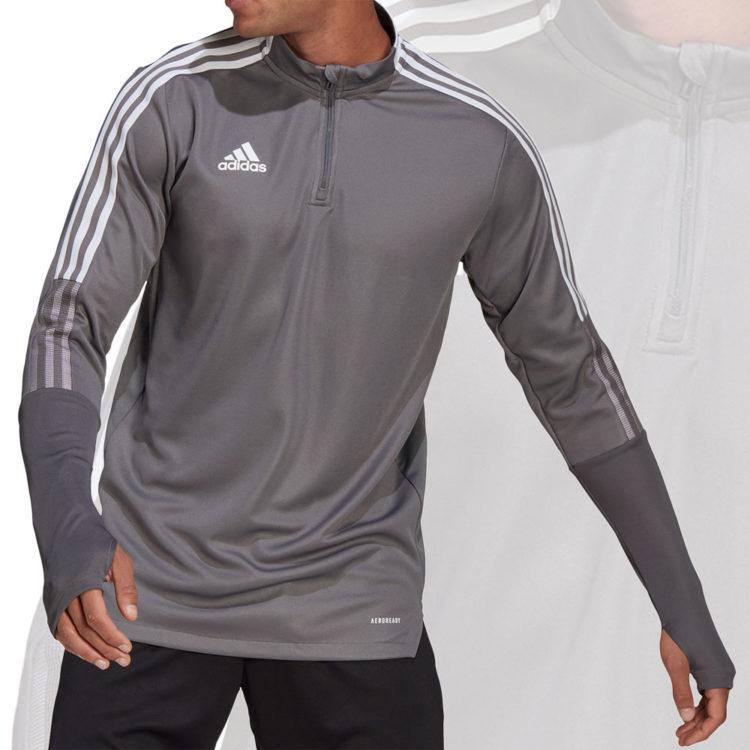das adidas Tiro 21 Training Top in grey (grau)