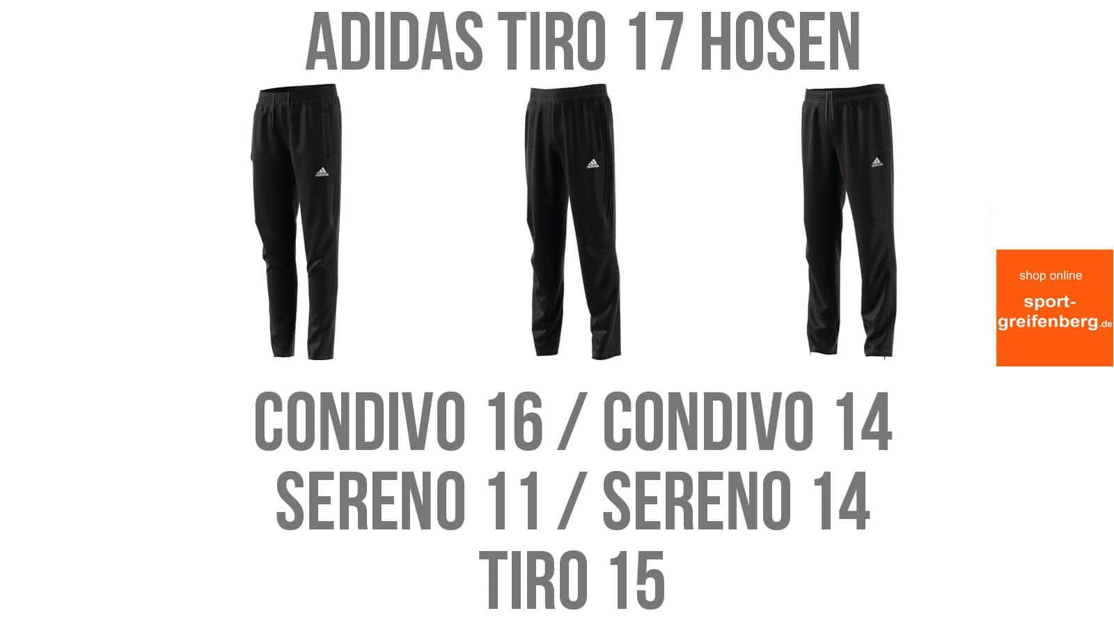 Química Específicamente Pedir prestado  Adidas Tiro 17 Hosen zu anderen Trainingsanzügen ☆