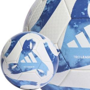 Der adidas Tiro League TB als Trainingsball in orange oder royal (FS0376)