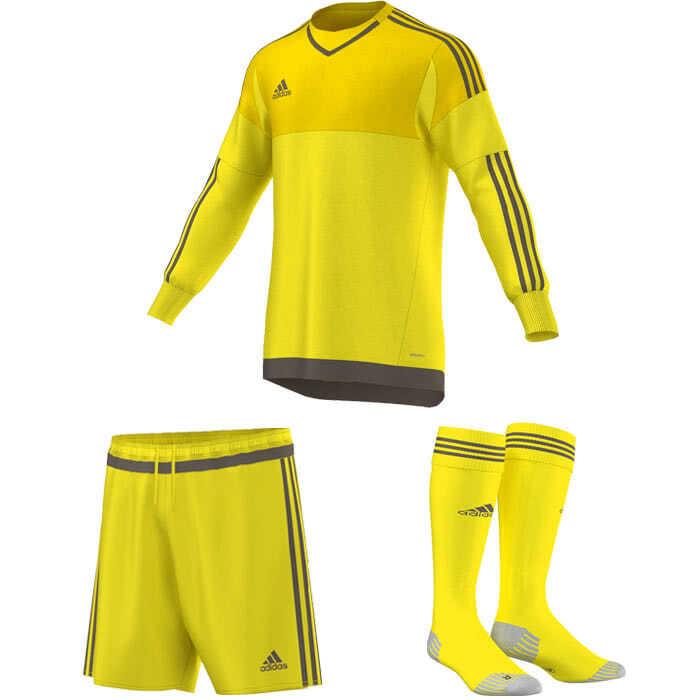 shades of 50% price new authentic Adidas Torwart Trikot Hose Stutzen im Profi Set ...