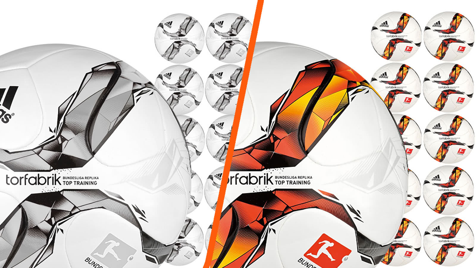Adidas Trainingsball Torfabrik