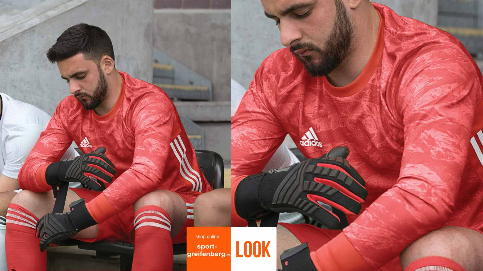 das adidas Torwart Trikot Set 2019/2020 mit dem Bundesliga Jersey